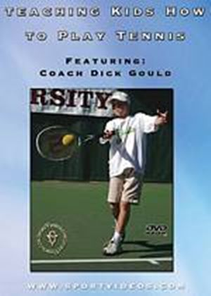 Teaching Kids  How To Play Tennis (DVD)