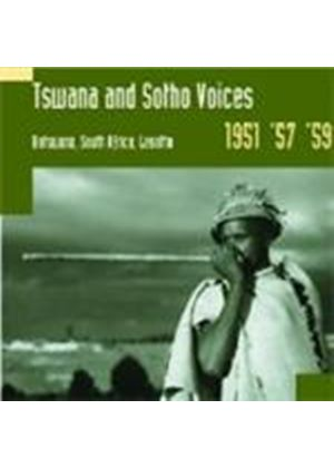 Various Artists - Africa - Tswana And Sotho Voices (Music CD)