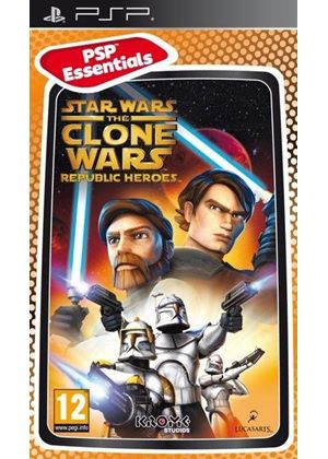 Star Wars: The Clone Wars - Republic Heroes - Essentials (PSP)