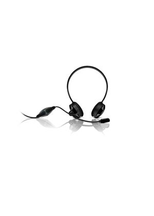 Sweex Neckband Headset Blackberry Black