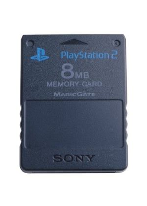 Official Sony PS2 Memory Card (8MB)