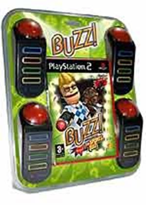 Buzz Sports Quiz (With Buzzers) (PS2)