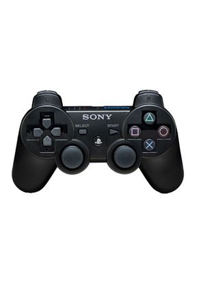 Sony Official Dualshock 3 Six Axis Controller (Black) (PS3)