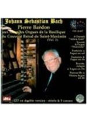 Johann Sebastian Bach - Organ Works - Vol. 3 (Bardon) (Music CD)