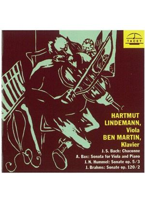 VARIOUS COMPOSERS - The Viola Recital (Lindemann, Martin)