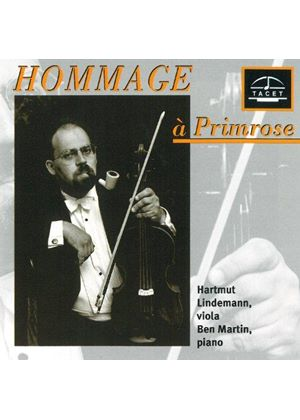 VARIOUS COMPOSERS - Hommage A Primrose (Lindemann, Martin)