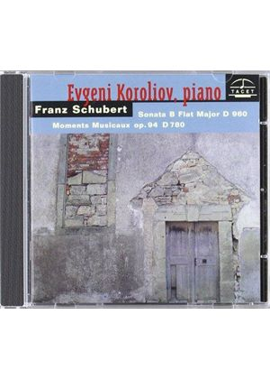 Franz Schubert - Sonata B Flat Major, Moments Musicaux Op. 94 (Koroliov)