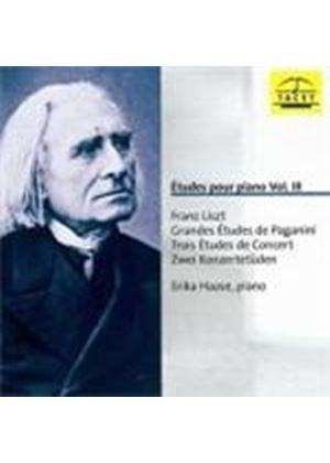 Franz Liszt - Etudes Pour Piano Vol. III (Music CD)