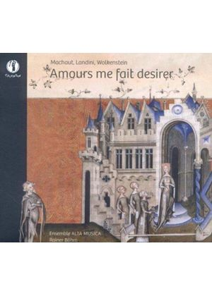 Amours Me Fait Desirer (Music CD)