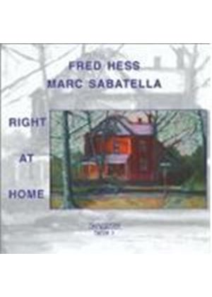 Fred Hess/M. Sabatella - Right At Home [European Import]