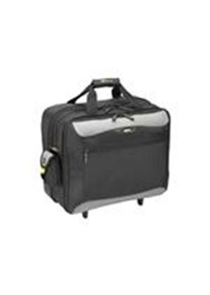 Targus Rolling Travel Notebook Case - Notebook carrying case - black