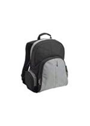"Targus 15.4"" Essential Notebook Backpack Notebook carrying backpack gray, black"