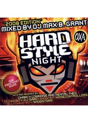 Various Artists - Hardstyle Night 2008 Edition (Mixed By Max B. Grant) (Music CD)