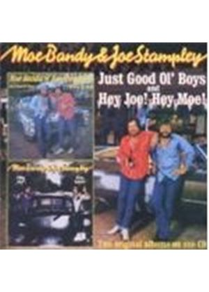 Joe Stampley - Just Good Ol' Boys/Hey Joe! Hey Moe! (Music CD)