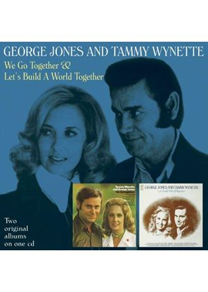 George Jones - We Go Together / Let's Build A World Together (Music CD)