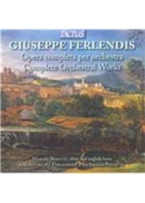 Giuseppe Ferlendis: Complete Orchestral Works (Music CD)