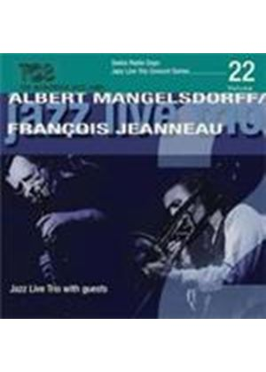 Albert Mangelsdorff & Francois Jeanneau - Jazz Trio With Guests (1972 & 1979) (Music CD)