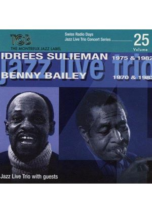 Jazz Live Trio - Featuring Benny Bailey & Idrees Sulieman (Music CD)
