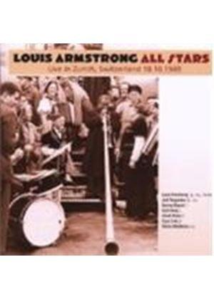 Louis Armstrong - Live In Zurich Switzerland - 18.10.49 (Music CD)