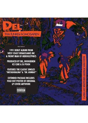 Del the Funky Homosapien - I Wish My Brother George Was Here (Music CD)