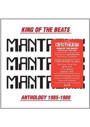 Mantronix - King of the Beats (Anthology 1985-1988) (Music CD)