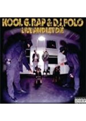 Kool G Rap & Polo - Live And Let Die [PA] (Music CD)