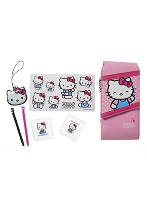 Hello Kitty 7-in-1 Accessory Kit (Nintendo 3DS/DSi/DS Lite)