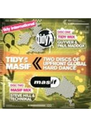 Various Artists - Tidy International - Tidy Vs Masif (Mixed By Guyver & Paul Maddox, Steve Hill & Technikal) (Music CD)