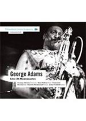George Adams - Live At Montmartre (Music CD)
