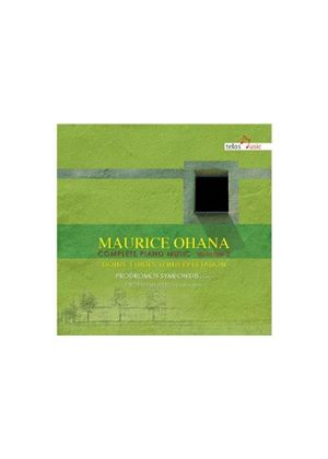 Maurice Ohana: Complete Piano Music, Vol. 2 (Music CD)