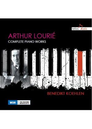 Arthur Lourie: Complete Piano Works (Music CD)