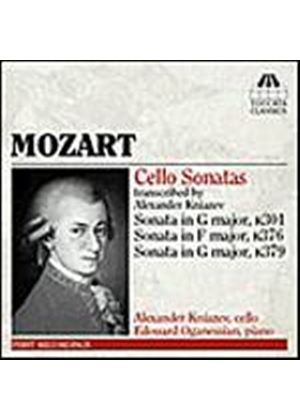 Wolfgang Amadeus Mozart - Cello Sonatas (Transcribed By Alexander Kniazev) (Music CD)