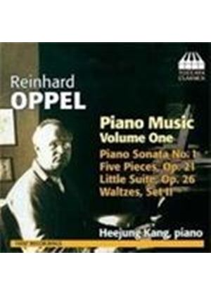 Reinhard Oppel: Piano Music, Vol. 1 (Music CD)