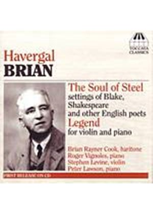 Havergal Brian - The Soul Of Steel (Cook, Vignoles, Levine) (Music CD)