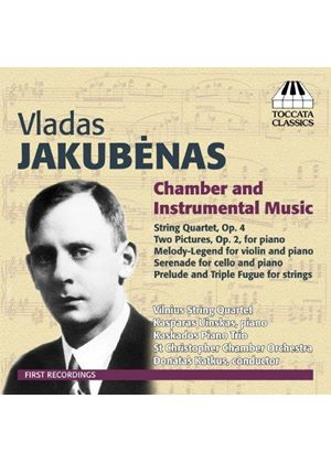 Vladas Jakubènas: Chamber and Instrumental Music (Music CD)