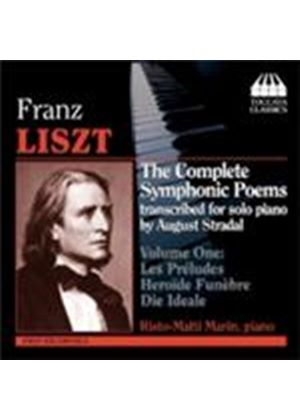 Liszt: Complete Symphonic Poems, Vol 1 (Music CD)