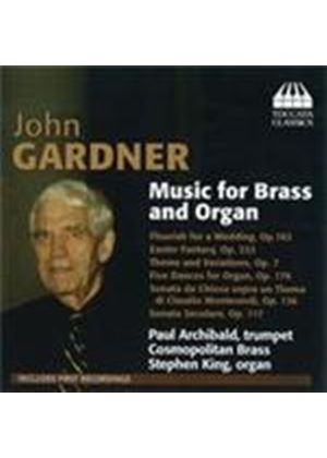 Gardner, J: Brass and Organ Works (Music CD)