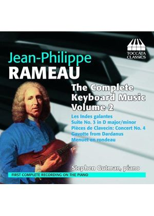 Rameau: The Complete Keyboard Music, Vol. 2 (Music CD)