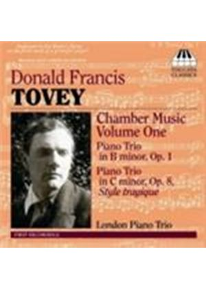 Tovey: Chamber Works, Vol 1 (Music CD)