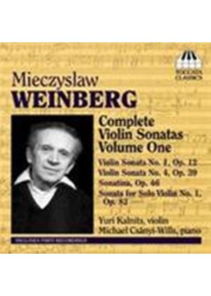 Weinberg: Complete Violin Sonatas Vol.1 (Music CD)