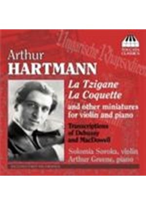 Hartmann: Miniatures for Violin & Piano (Music CD)