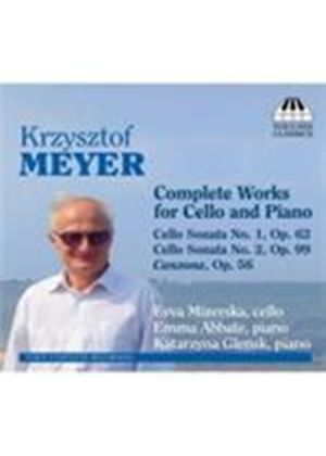 Meyer: Complete Works for Cello and Piano (Music CD)
