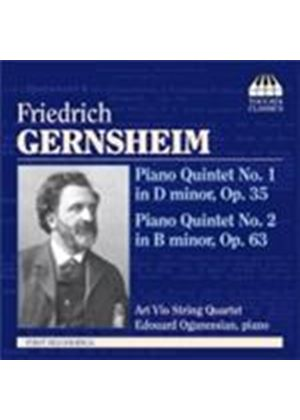 Gernsheim: Piano Quintets Nos 1 & 2 (Music CD)