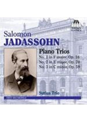 Jadassohn: Piano Trios (Music CD)