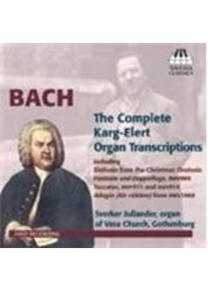 Bach: Karg-Elert Organ Transcriptions (Music CD)