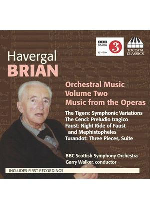 Havergal Brian: Orchestral Music, Vol. 2 - Music from the Operas (Music CD)