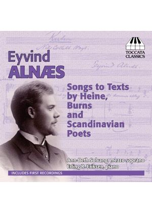 Alnaes Eyvind: Songs to Texts by Heine, Burns & Scandinavian Poets (Music CD)