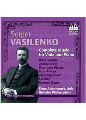 Sergei Vasilenko: Complete Music for Viola & Piano (Music CD)