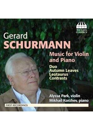 Gerard Schurmann: Music for Violin and Piano (Music CD)