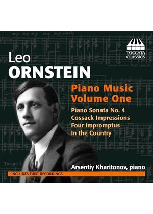 Ornstein: Piano Music, Vol. 1 (Music CD)